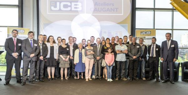 inauguration nouveau bâtiment JCB Ateliers CAUGANT 22 mai 2014