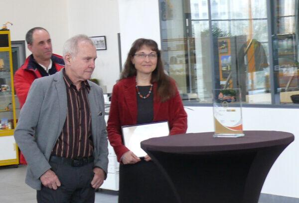Ateliers CAUGANT récompensé par la Carsat